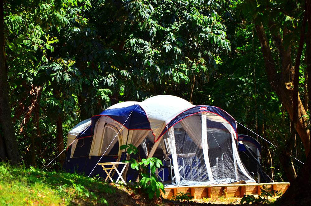 Thailand Camping on undisturbed Koh Ra