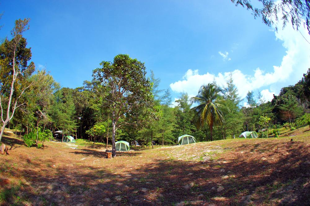 Thailand camping at Koh Ra