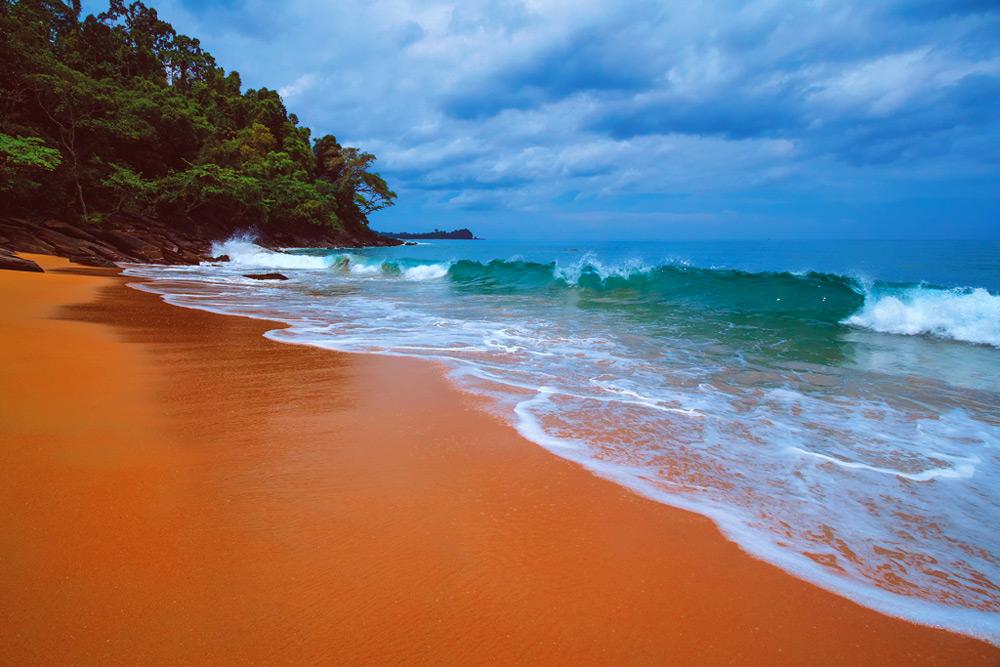 undisturbed beach thailand camping