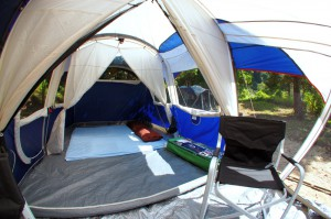 Tents for Thailand camping at Koh ra